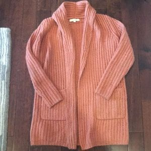 Loft sz Small chunky cardigan sweater